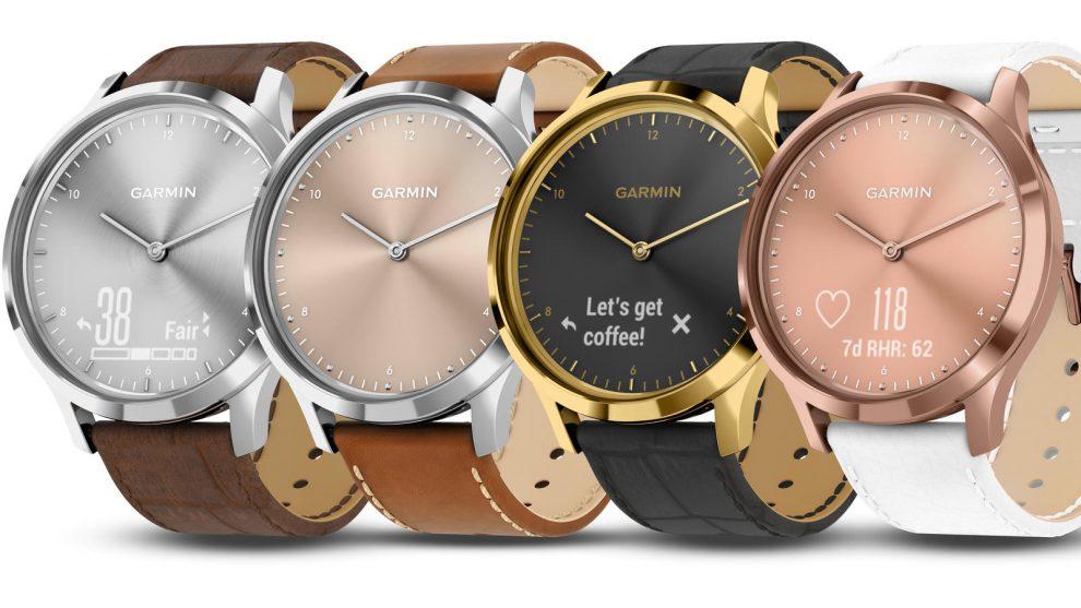 b43d26564 Garmin Expands vívomove HR Smartwatch Options – Fashion Mannuscript